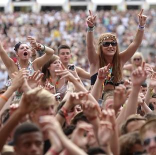 A ban on legal highs has been in place at the V Festival for seven years
