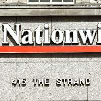 Mortgage lending down at Nationwide