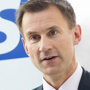 Health Secretary Jeremy Hunt reiterated the Government's pledge to 'aim high' to beat the disease