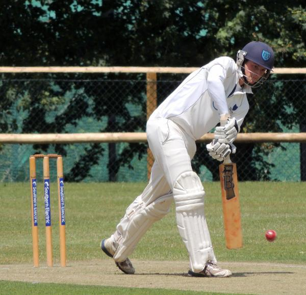 Connor Browne struck 180 for Langley Manor against Totton & Eling 2nds