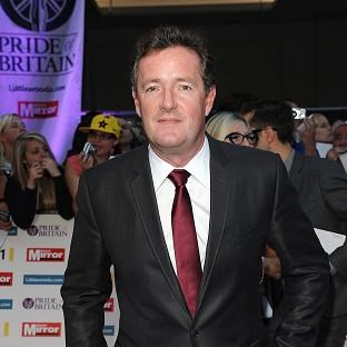 Piers Morgan is parting