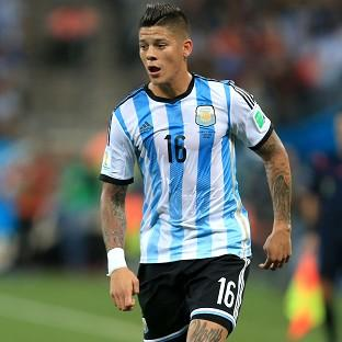 Marcos Rojo is set to make his debut for Man Ut
