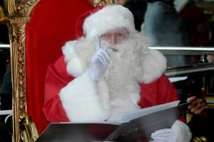 See Santa at charity fayre