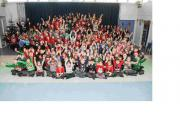 Romsey Primary School's 'wear your Christmas jumper' day                                                                                                                  Order no : 22361759