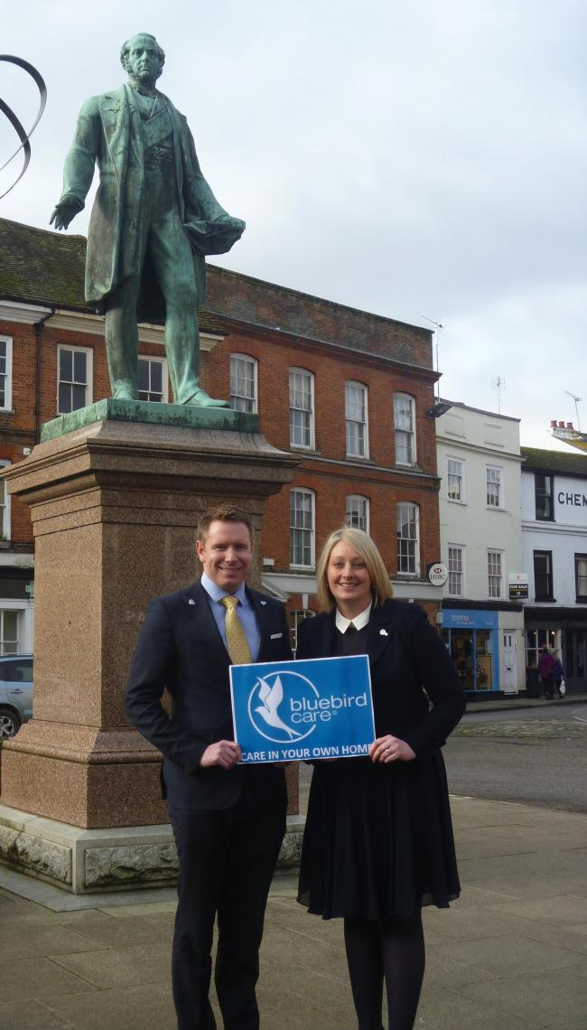 Bluebird directors Norman and Claire Murphy are bringing their business to Romsey and the Test Valley