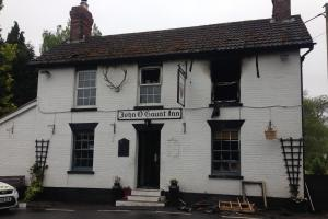 UPDATE: Pub badly damaged as fire rips through it