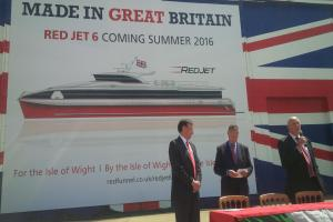 PHOTOS: Red Funnel unveil new British-built ferry