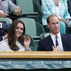 Romsey Advertiser: The Duke and Duchess of Cambridge will be at Wimbledon to watch Andy Murray play
