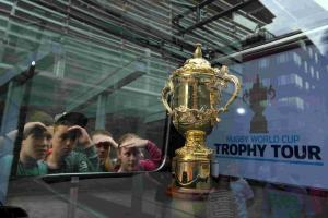 Prestigious rugby trophy to go on show at town club