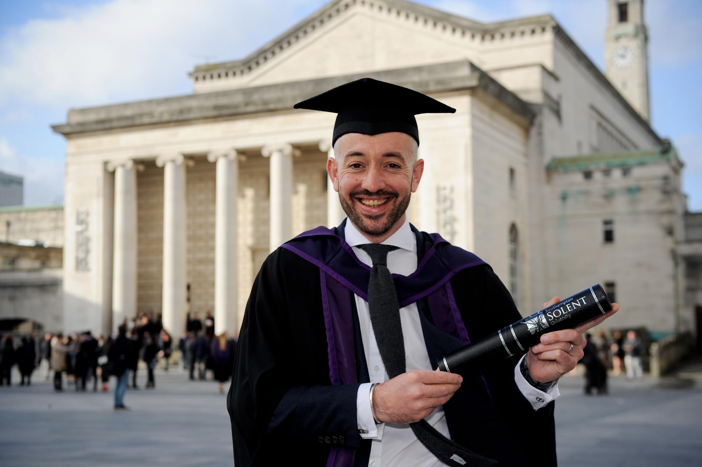 Students Celebrate Graduation From Southampton Solent University Romsey Advertiser