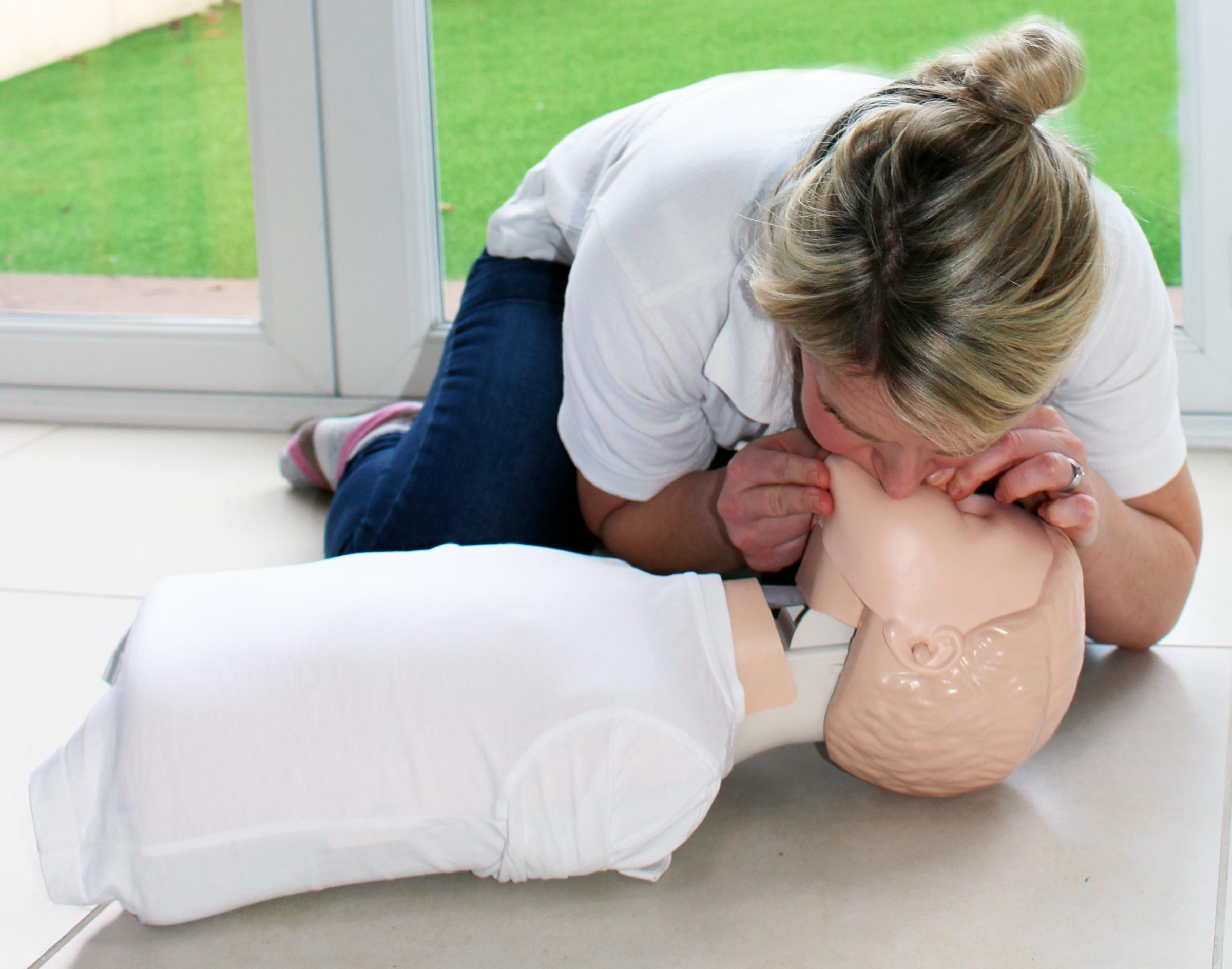 Baby and Child First Aid Class
