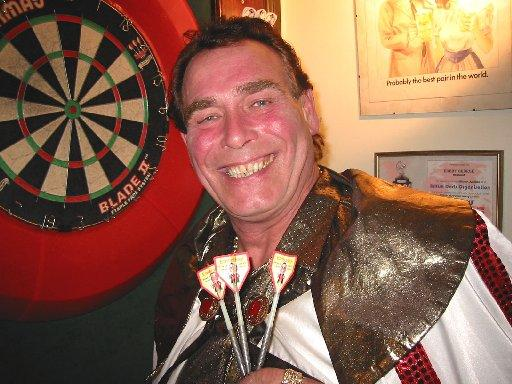 Champion darts players stage exhibition in Winchester