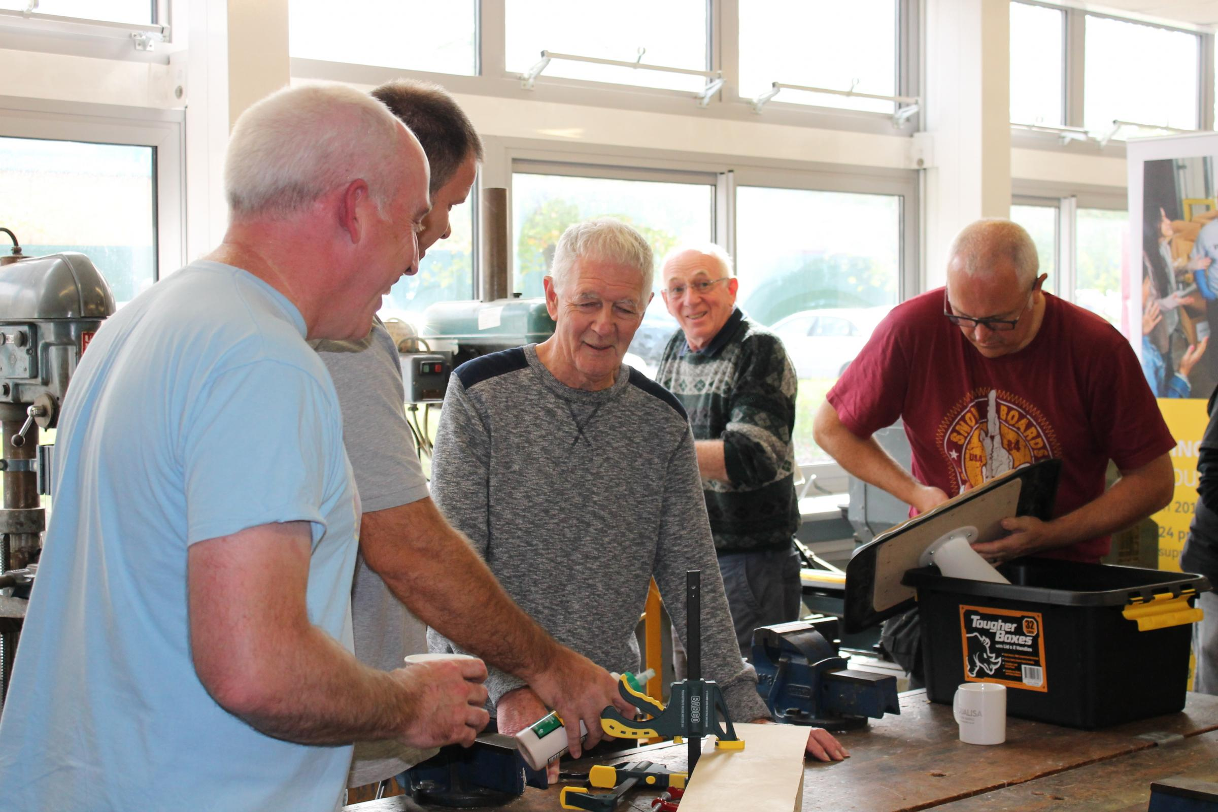 Church Crookham & Fleet Men's Shed - tackling social exclusion