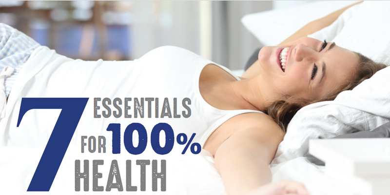 7 Essentials for 100% Health with Patrick Holford