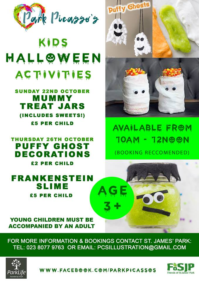 FRANKENSTEIN SLIME & PUFFY GHOST DECORATIONS