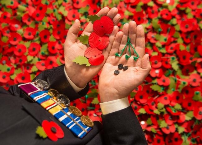 Customers can recycle their used paper poppies at the Sainsbury's store in Oldbury.