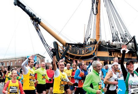 Great South Run in aid of Southampton Hospital Charity