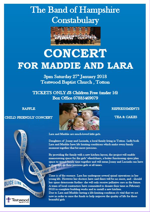 Concert for Lara and Maddie
