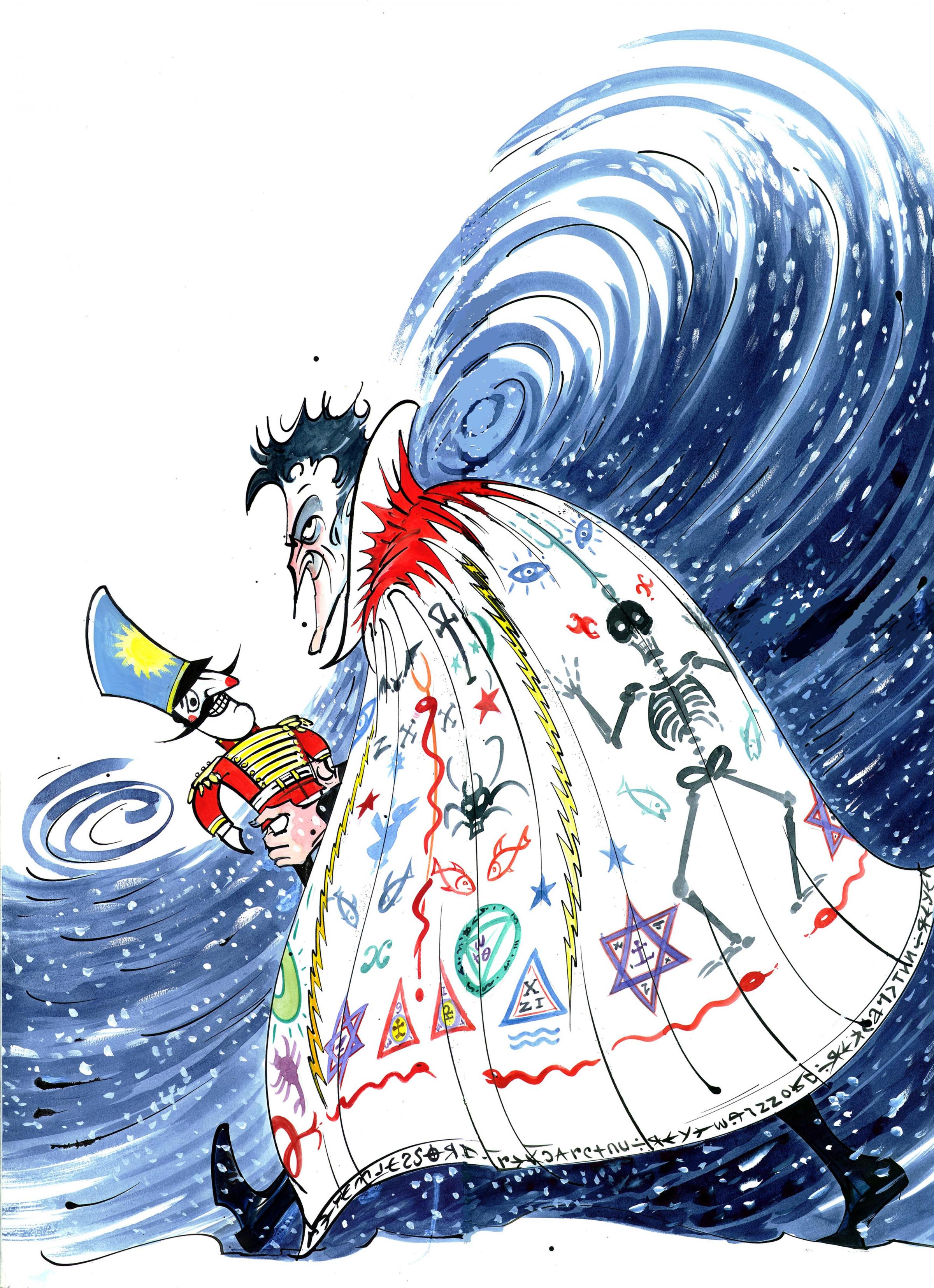 Gerald Scarfe: Stage and Screen