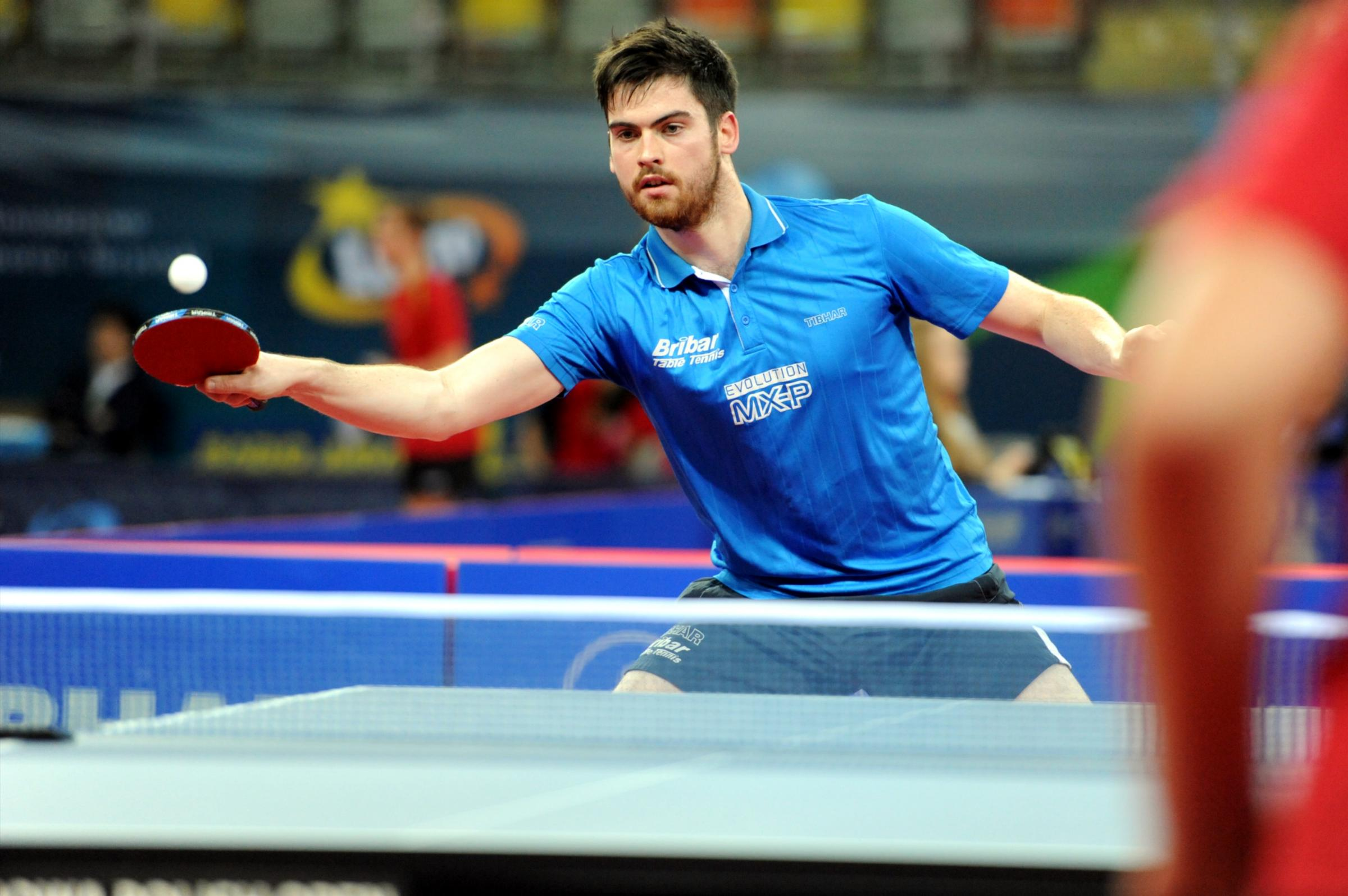TABLE TENNIS: Rownhams' David McBeath in Commonwealth Games squad