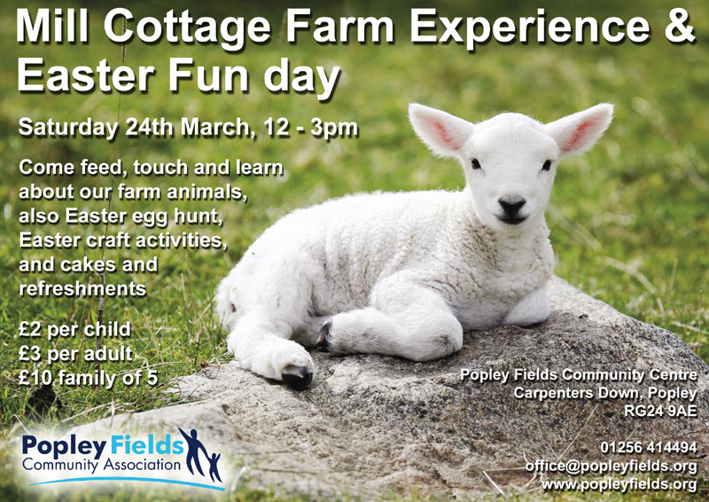 Mill Cottage Farm Experience &  Easter Family Farm day