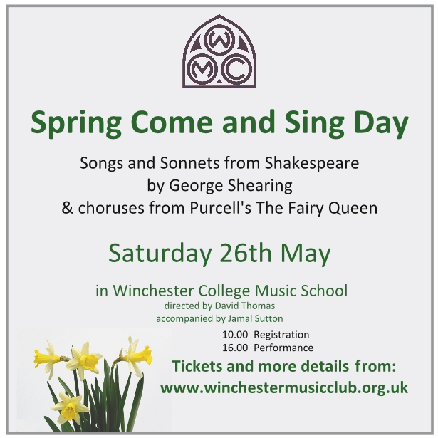 Spring Come and Sing Day