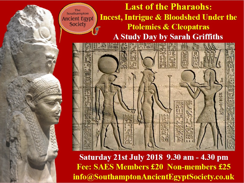 Southampton Ancient Egypt Society Study Day
