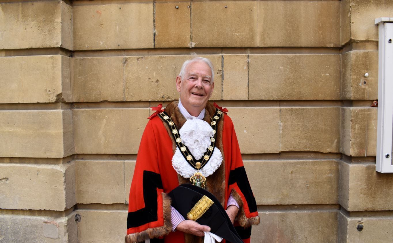 Cllr Ian Carr, who is mayor of Test Valley.
