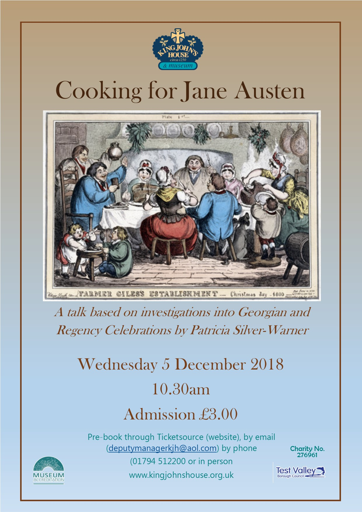 Cooking for Jane Austen