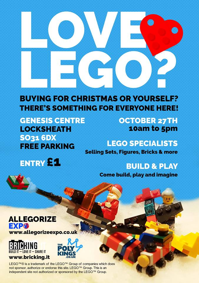 LOVE LEGO? Sales event!