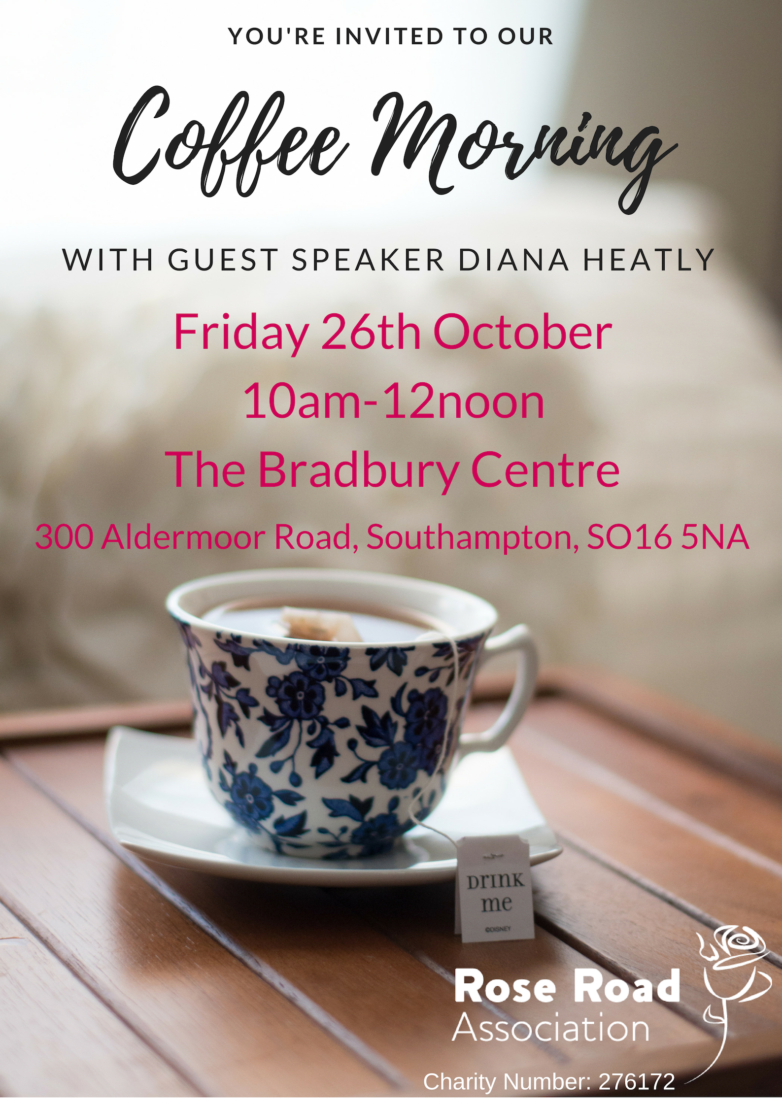 Coffee Morning with Diana Heatly