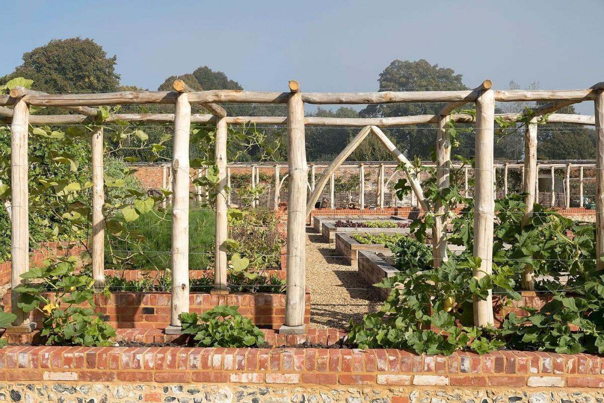 New Kitchen Garden At Mottisfont To Be Unveiled Today Romsey