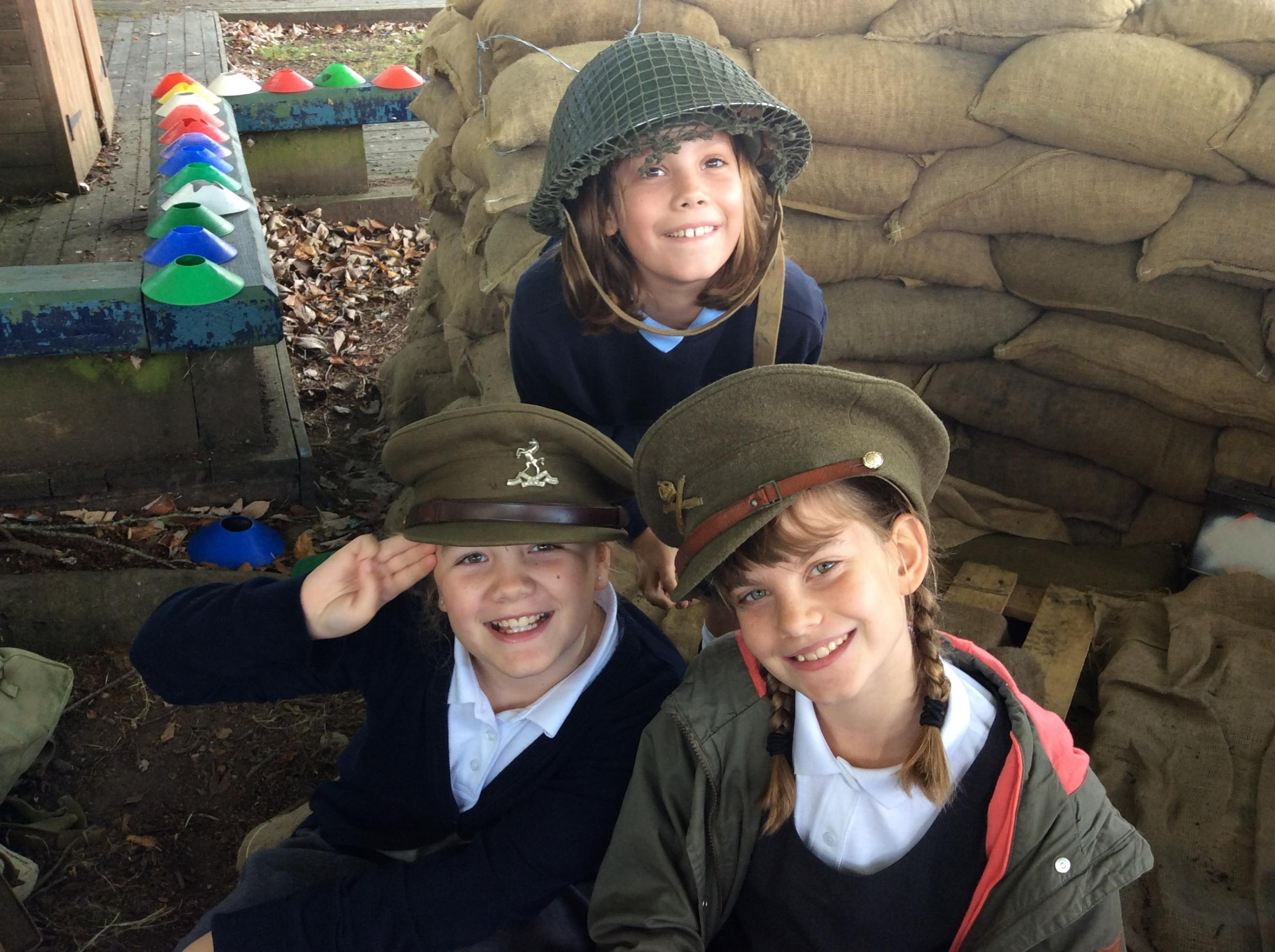 Shipton Bellinger Primary School pupils enjoyed a week dedicated to the First World War