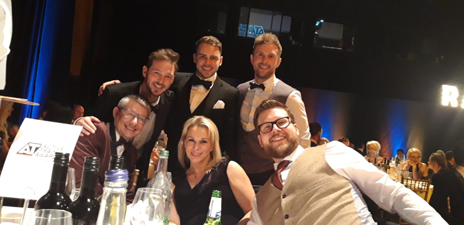 The Future Fit team celebrate  their success at the ukactive Active Training Awards 2018.