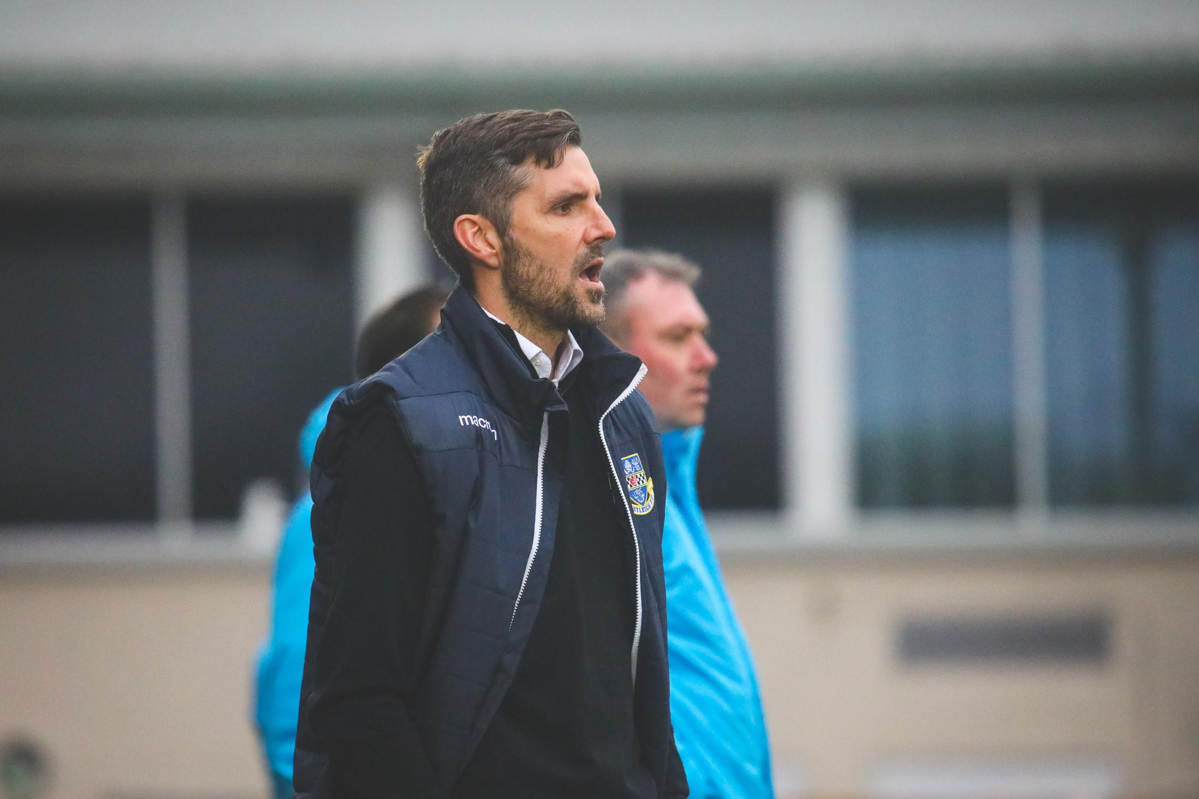 Eastleigh boss Ben Strevens (photo: Tom Mulholland)