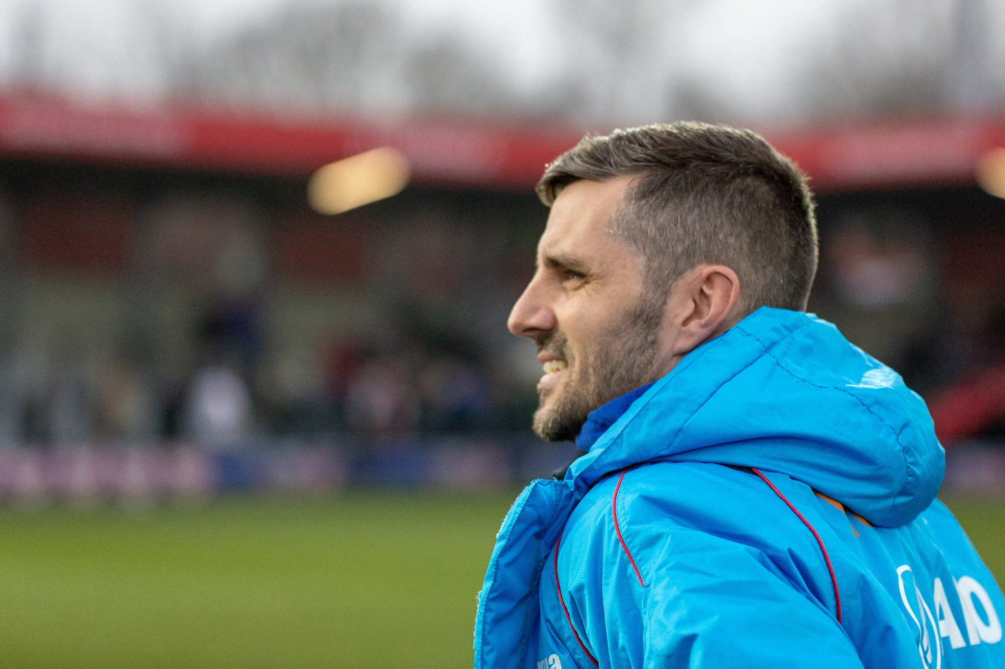 Eastleigh boss Ben Strevens