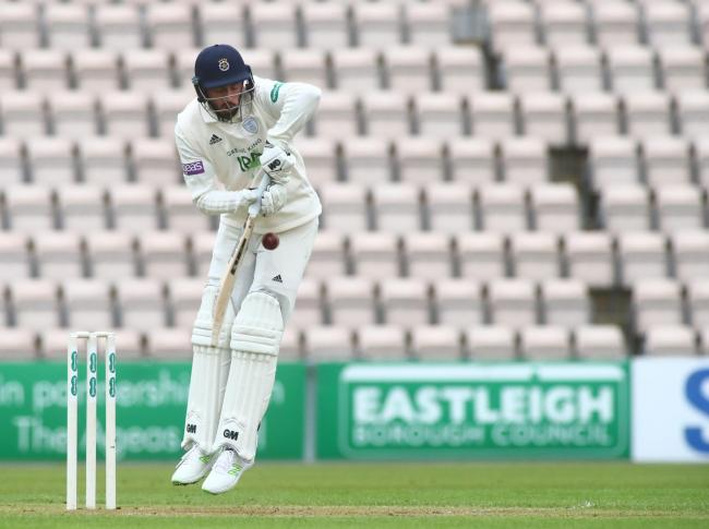 Hampshire V Middlesex Cricket pre-season friendly - James Vince.