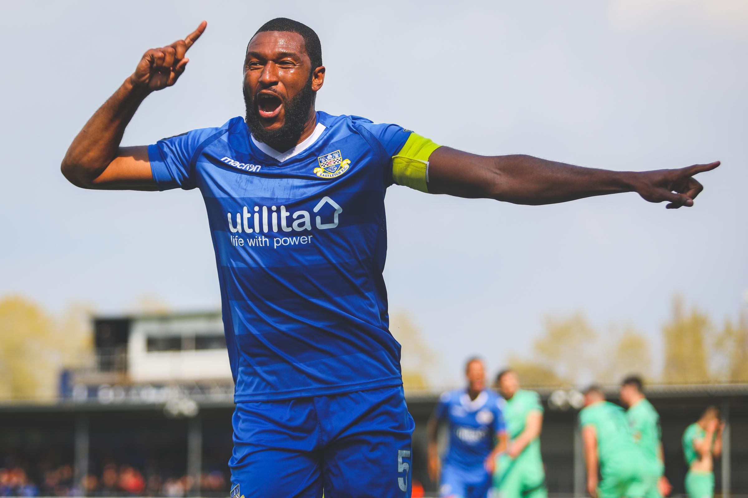 Reda Johnson celebrates his winner. Photo: Tom Mulholland.