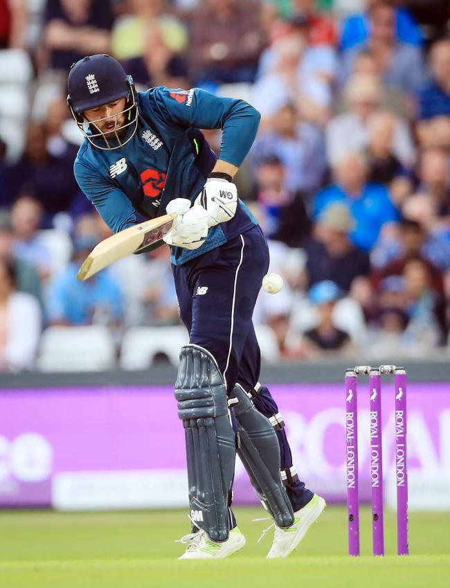 England's James Vince during the third Royal London One Day international at Emerald Headingley, Leeds.