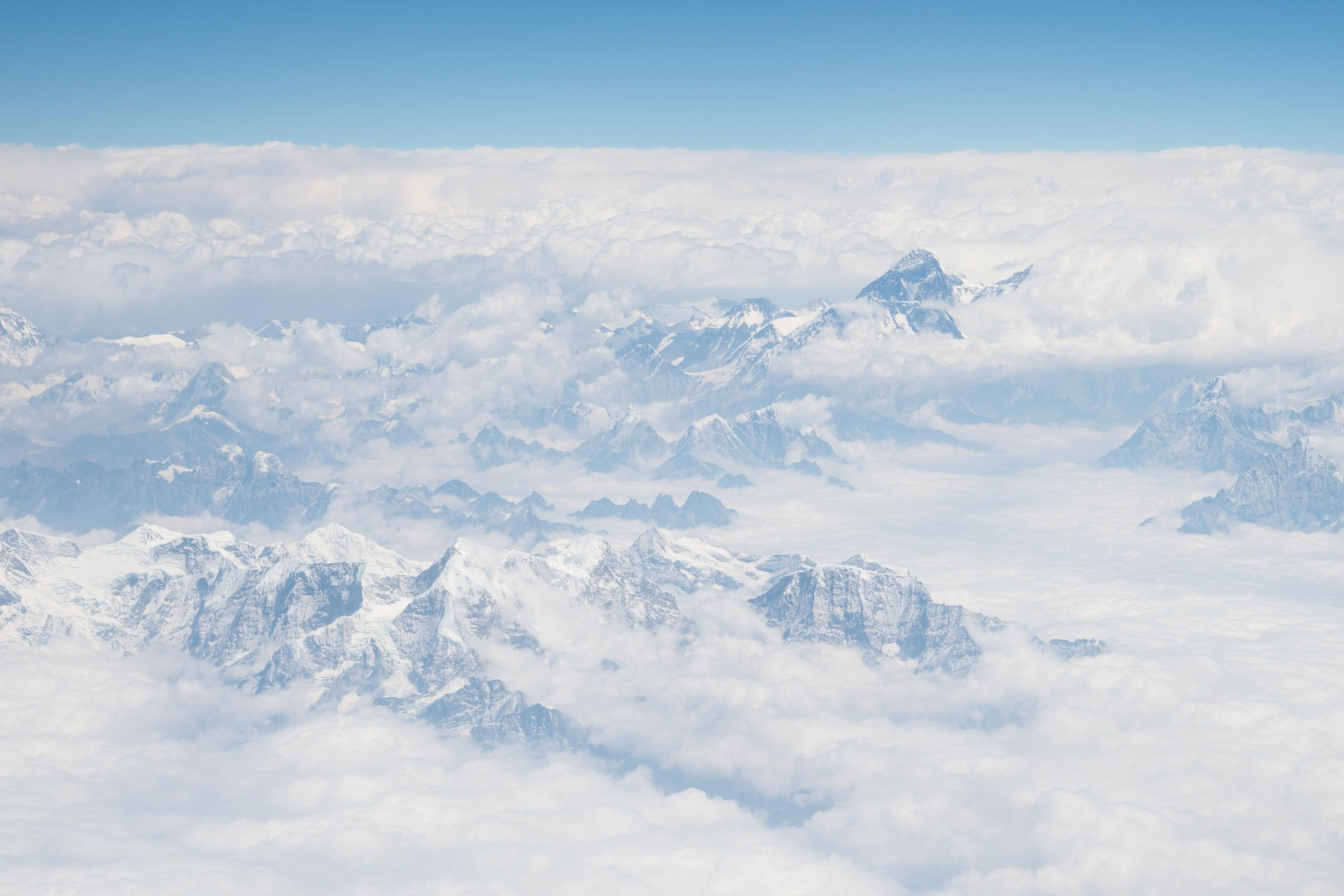 Mount Everest and the Himalayas