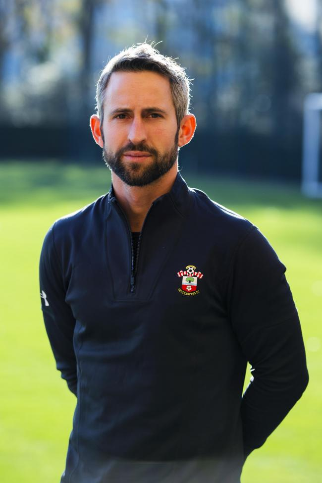 Iain Brunnschweiler, Saints' coach development manager. Photo by James Bridle/Southampton FC